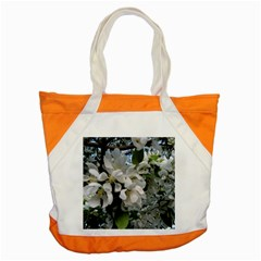 Pure And Simple Accent Tote Bag by dawnsiegler