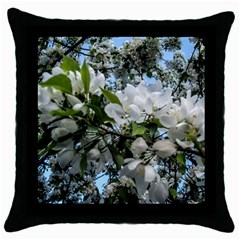 Pure And Simple 2 Throw Pillow Case (black) by dawnsiegler