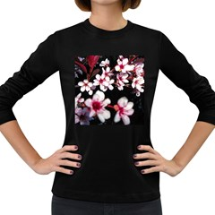 Morning Sunrise 2 Women s Long Sleeve Dark T-shirts by dawnsiegler