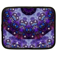 Pearls On Lavender Netbook Case (xl)