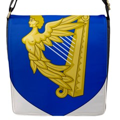 Coat Of Arms Of Ireland, 17th Century To The Foundation Of Irish Free State Flap Messenger Bag (s) by abbeyz71