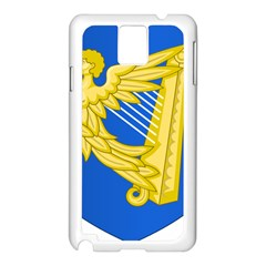 Coat Of Arms Of Ireland, 17th Century To The Foundation Of Irish Free State Samsung Galaxy Note 3 N9005 Case (white) by abbeyz71