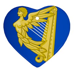 Coat Of Arms Of Ireland, 17th Century To The Foundation Of Irish Free State Ornament (heart) by abbeyz71
