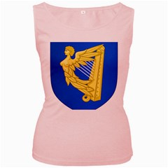 Coat Of Arms Of Ireland, 17th Century To The Foundation Of Irish Free State Women s Pink Tank Top by abbeyz71