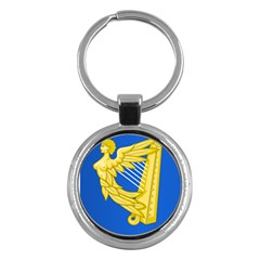 Coat Of Arms Of Ireland, 17th Century To The Foundation Of Irish Free State Key Chains (round)  by abbeyz71