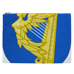 Coat Of Arms Of Ireland, 17th Century To The Foundation Of Irish Free State Cosmetic Bag (xxl)  by abbeyz71