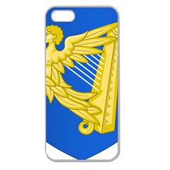 Coat Of Arms Of Ireland, 17th Century To The Foundation Of Irish Free State Apple Seamless Iphone 5 Case (clear) by abbeyz71