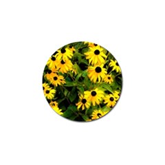 Walking Through Sunshine Golf Ball Marker (4 Pack) by dawnsiegler