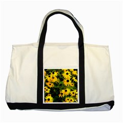 Walking Through Sunshine Two Tone Tote Bag