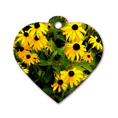 Walking Through Sunshine Dog Tag Heart (one Side) by dawnsiegler