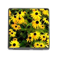 Walking Through Sunshine Memory Card Reader (square) by dawnsiegler