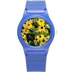 Walking Through Sunshine Round Plastic Sport Watch (s)