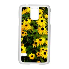 Walking Through Sunshine Samsung Galaxy S5 Case (white) by dawnsiegler