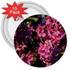 Lilacs 3  Buttons (10 Pack)  by dawnsiegler