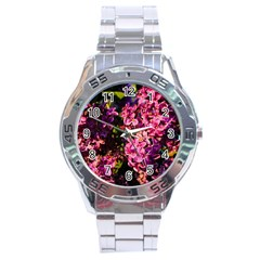 Lilacs Stainless Steel Analogue Watch by dawnsiegler