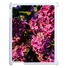 Lilacs Apple Ipad 2 Case (white) by dawnsiegler