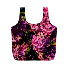 Lilacs Full Print Recycle Bags (m)