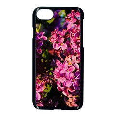 Lilacs Apple Iphone 7 Seamless Case (black) by dawnsiegler
