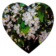 Tree Blossoms Jigsaw Puzzle (heart) by dawnsiegler
