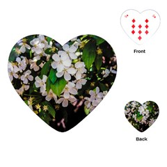 Tree Blossoms Playing Cards (heart)  by dawnsiegler