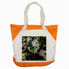 Tree Blossoms Accent Tote Bag by dawnsiegler