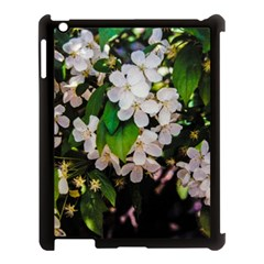 Tree Blossoms Apple Ipad 3/4 Case (black) by dawnsiegler