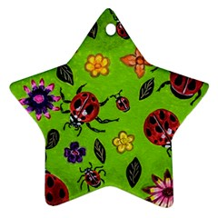 Lucky Ladies Ornament (star)
