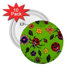 Lucky Ladies 2 25  Buttons (10 Pack)  by dawnsiegler