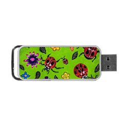 Lucky Ladies Portable Usb Flash (one Side)