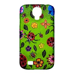 Lucky Ladies Samsung Galaxy S4 Classic Hardshell Case (pc+silicone)