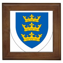 Lordship Of Ireland Coat Of Arms, 1177-1542 Framed Tiles by abbeyz71