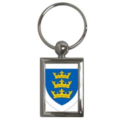 Lordship Of Ireland Coat Of Arms, 1177 1542 Key Chains (rectangle)  by abbeyz71