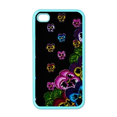 Floral Rhapsody Pt 1 Apple Iphone 4 Case (color) by dawnsiegler