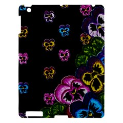 Floral Rhapsody Pt 1 Apple Ipad 3/4 Hardshell Case by dawnsiegler