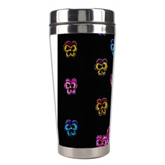 Floral Rhapsody Pt 1 Stainless Steel Travel Tumblers by dawnsiegler