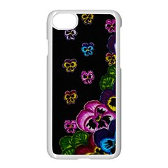 Floral Rhapsody Pt 1 Apple Iphone 7 Seamless Case (white) by dawnsiegler
