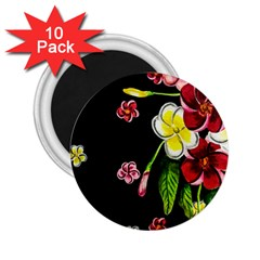 Floral Rhapsody Pt 2 2 25  Magnets (10 Pack)  by dawnsiegler