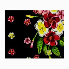 Floral Rhapsody Pt 2 Small Glasses Cloth (2-side) by dawnsiegler