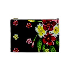 Floral Rhapsody Pt 2 Cosmetic Bag (medium)