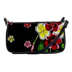 Floral Rhapsody Pt 2 Shoulder Clutch Bags by dawnsiegler