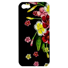 Floral Rhapsody Pt 2 Apple Iphone 5 Hardshell Case by dawnsiegler