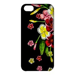 Floral Rhapsody Pt 2 Apple Iphone 5c Hardshell Case by dawnsiegler