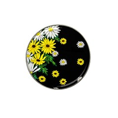Floral Rhapsody Pt 3 Hat Clip Ball Marker (4 Pack) by dawnsiegler