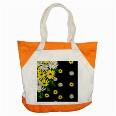 Floral Rhapsody Pt 3 Accent Tote Bag by dawnsiegler
