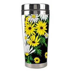 Floral Rhapsody Pt 3 Stainless Steel Travel Tumblers by dawnsiegler