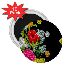 Floral Rhapsody Pt 4 2 25  Magnets (10 Pack)