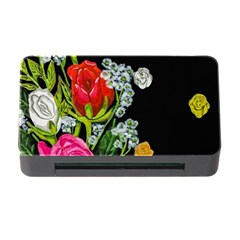 Floral Rhapsody Pt 4 Memory Card Reader With Cf by dawnsiegler
