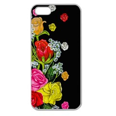 Floral Rhapsody Pt 4 Apple Seamless Iphone 5 Case (clear) by dawnsiegler