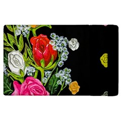 Floral Rhapsody Pt 4 Apple Ipad 3/4 Flip Case by dawnsiegler