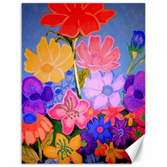 Spring Pastels Canvas 12  X 16   by dawnsiegler
